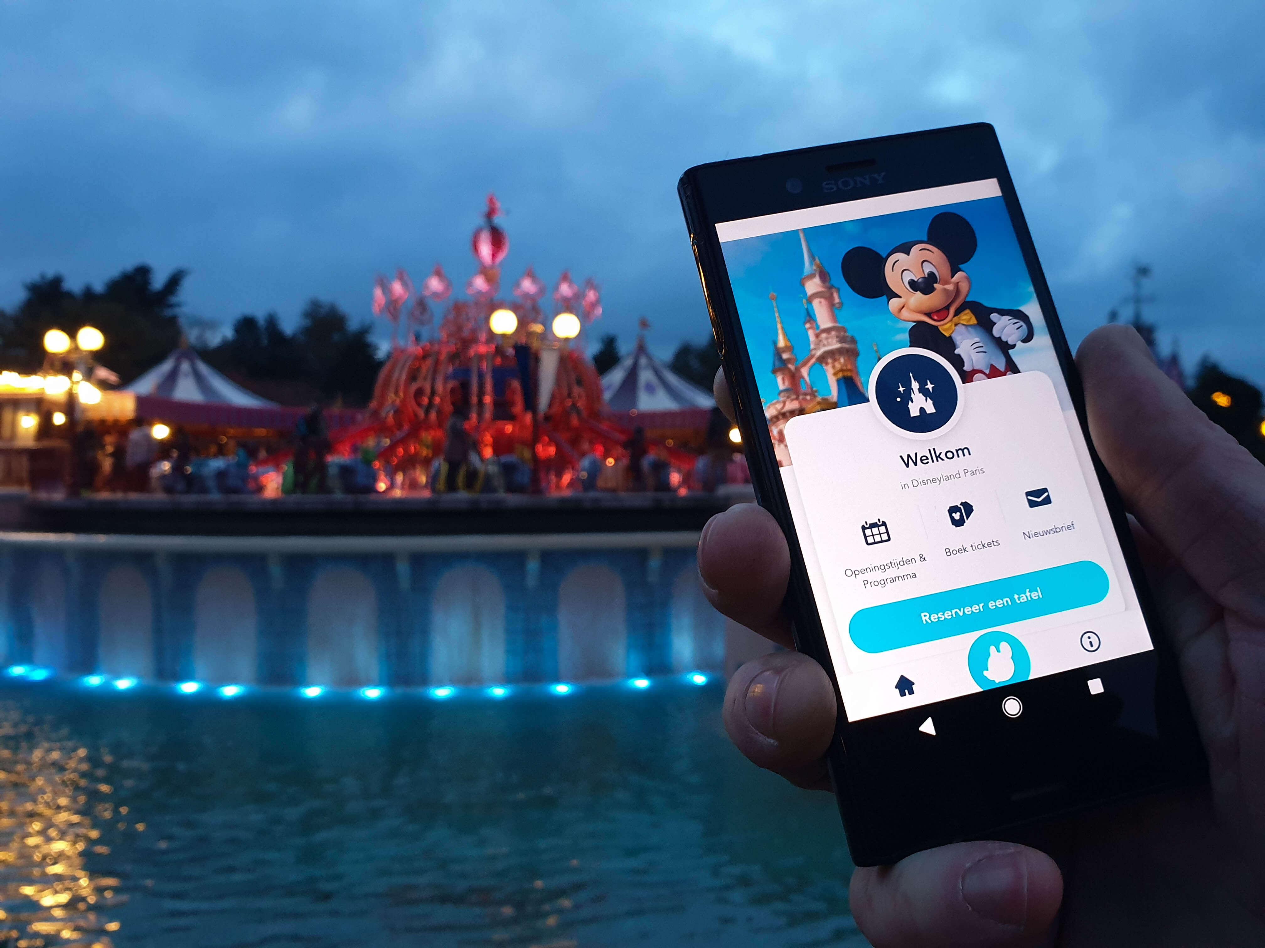 Disneyland Parijs App Nederlands