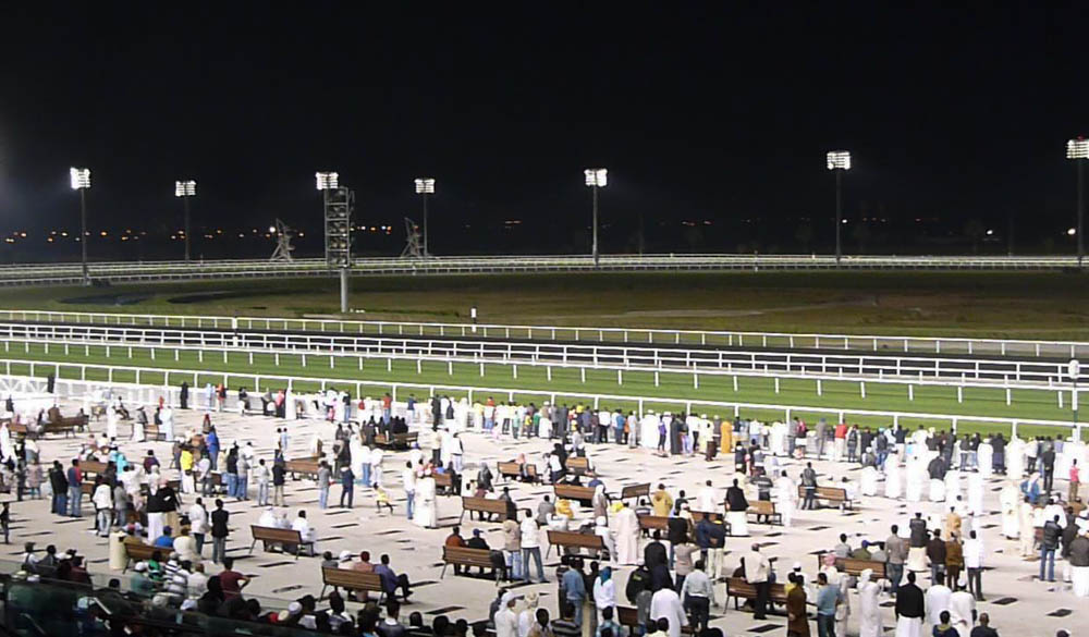 Paardenraces in Dubai
