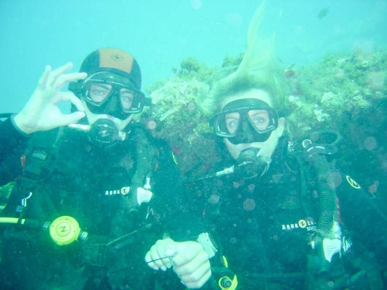 PADI Dive Course op Tenerife
