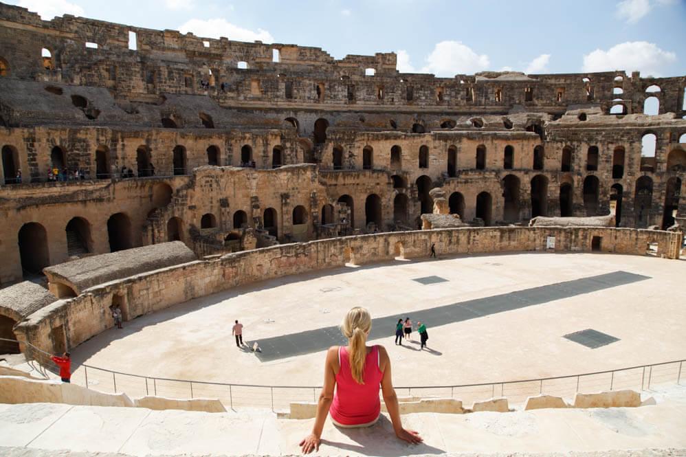 "Amfitheater ""El Djem"""
