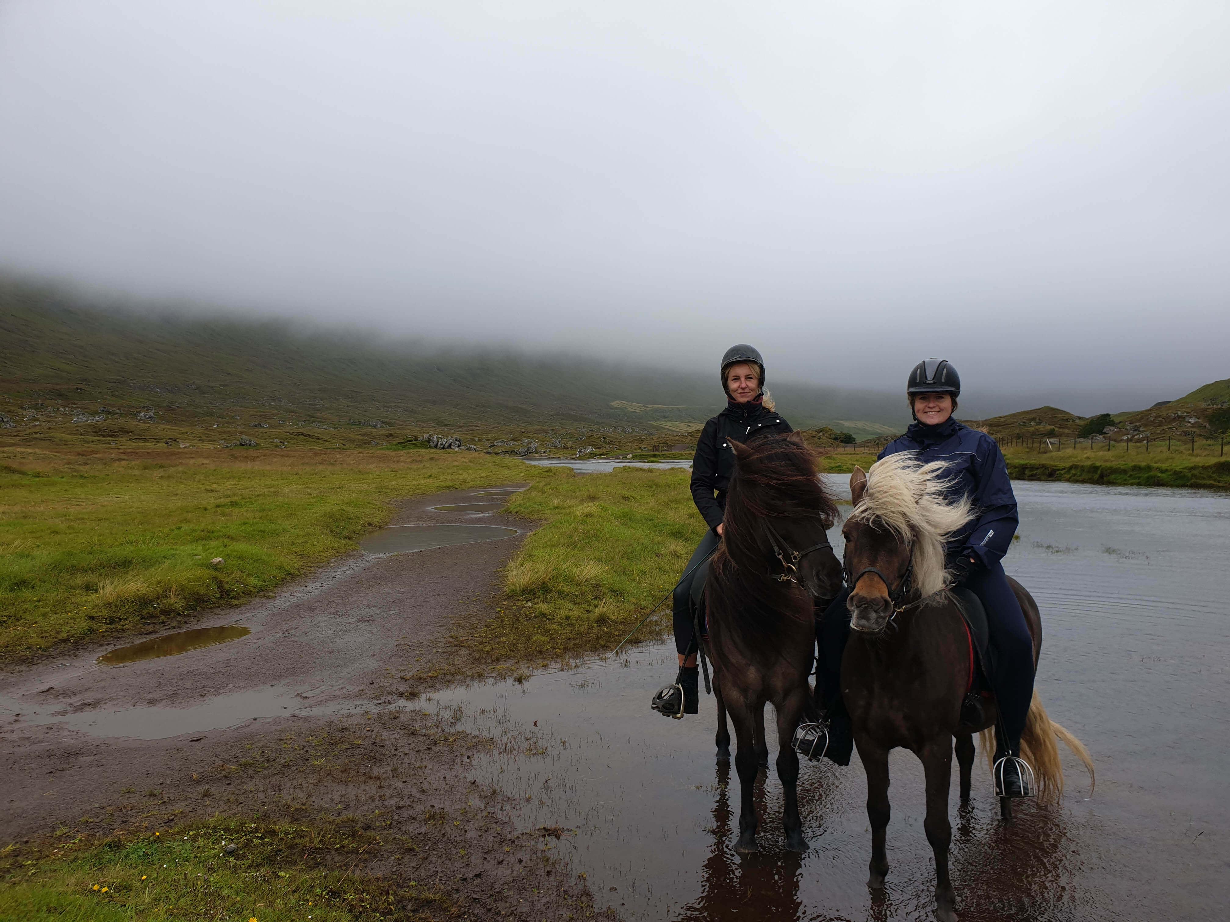 Paardrijden bij Berg Hestar