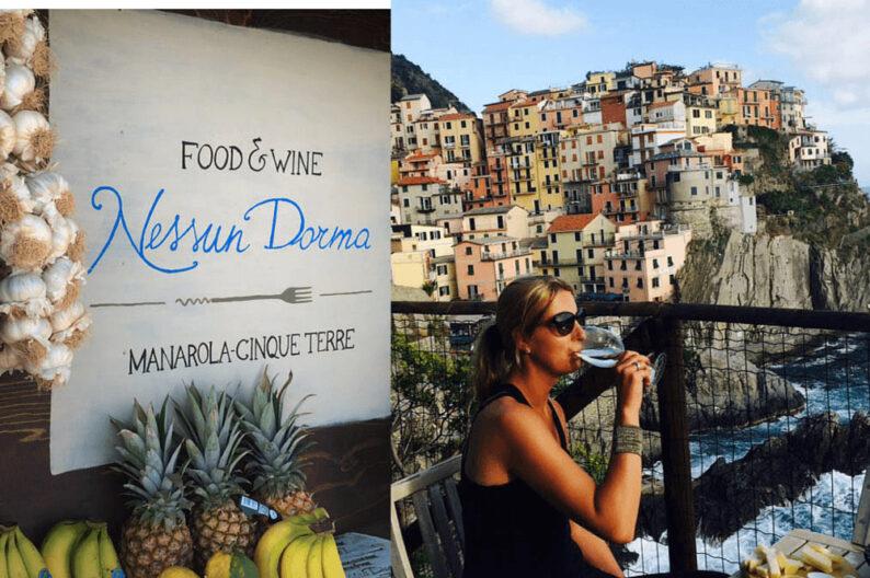 Food & Wine Nessun Dorma Manarola Cinque Terre