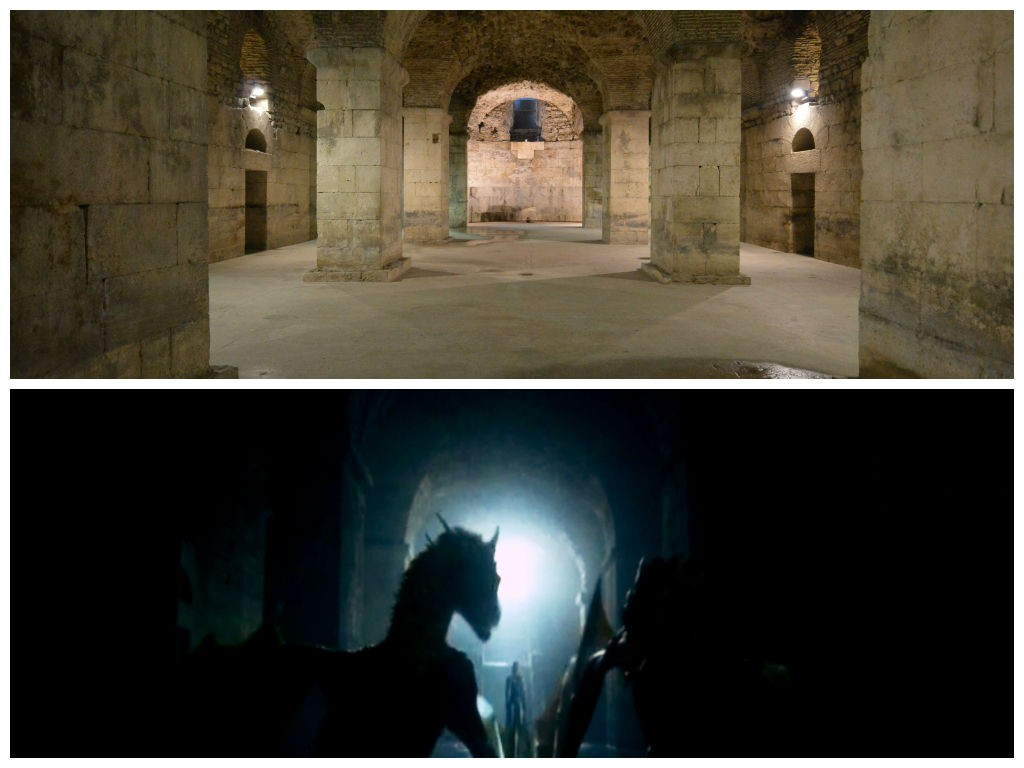 Game of Thrones Filmset, Split