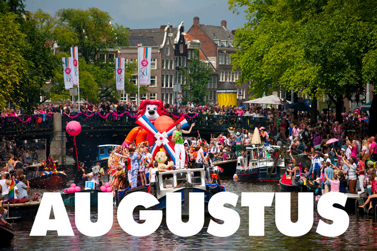 Meevaren in Amsterdam Gay Pride 2015