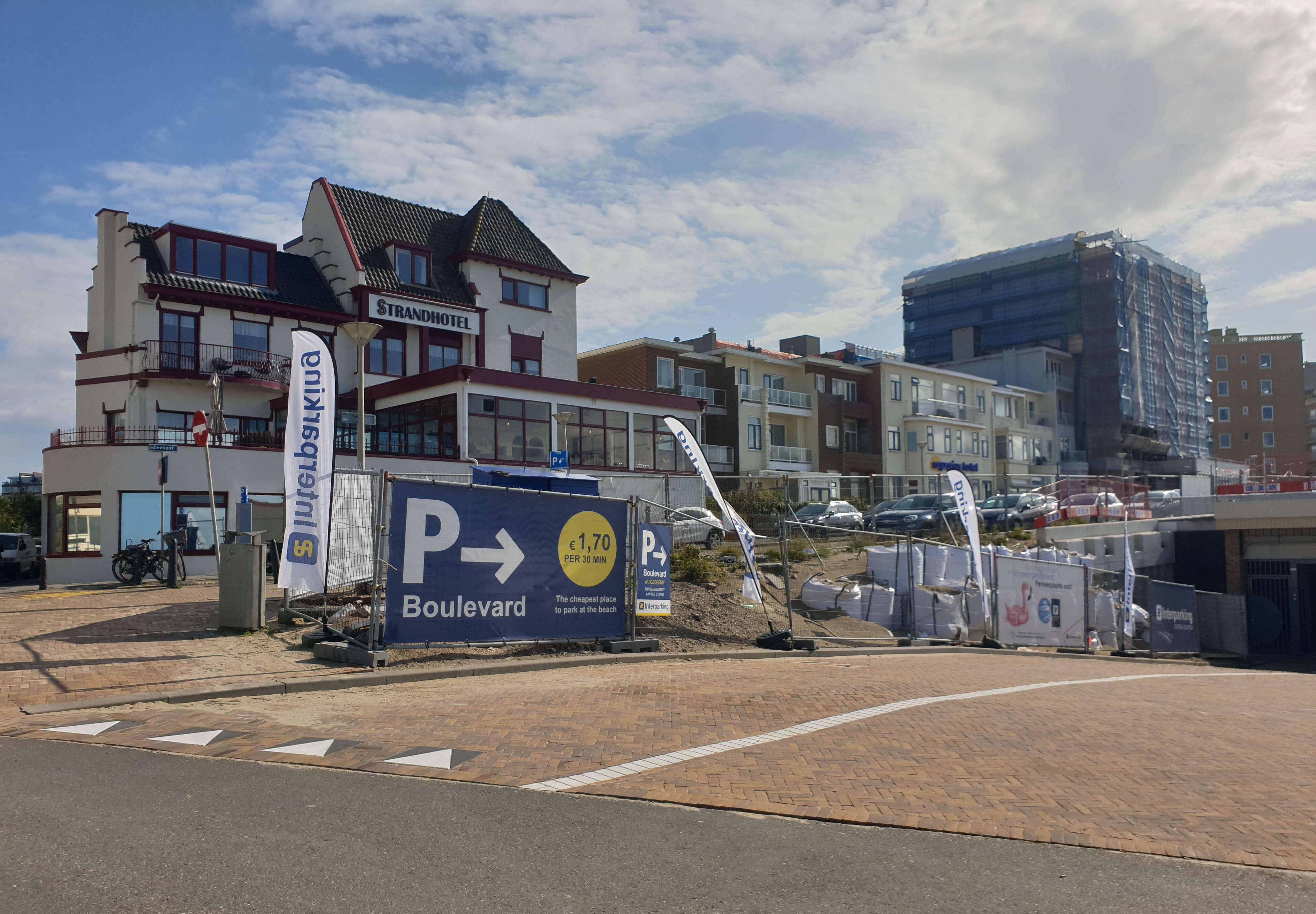 Goedkope parkeergarage in Scheveningen