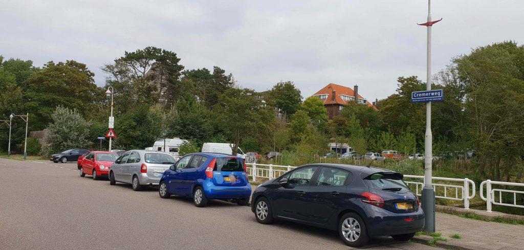 Gratis parkeren Scheveningen-Cremerweg