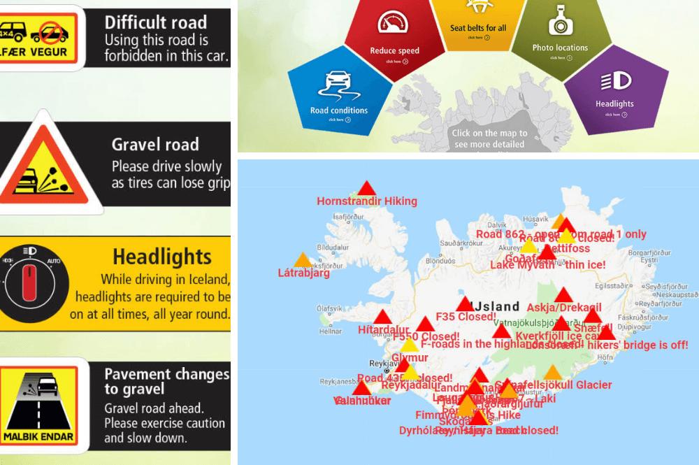Handige websites voor autorijden op IJsland