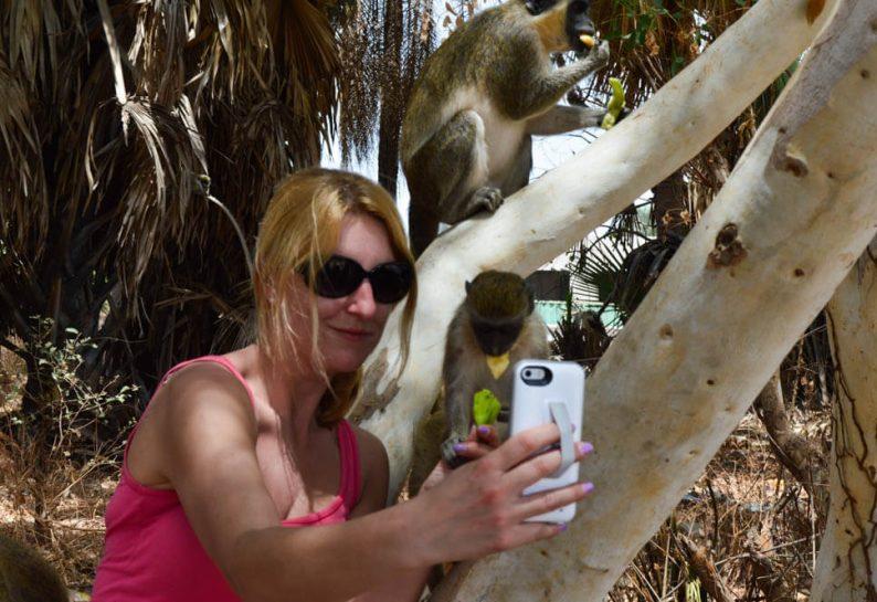 Foto's maken met een handygrip op je telefoon
