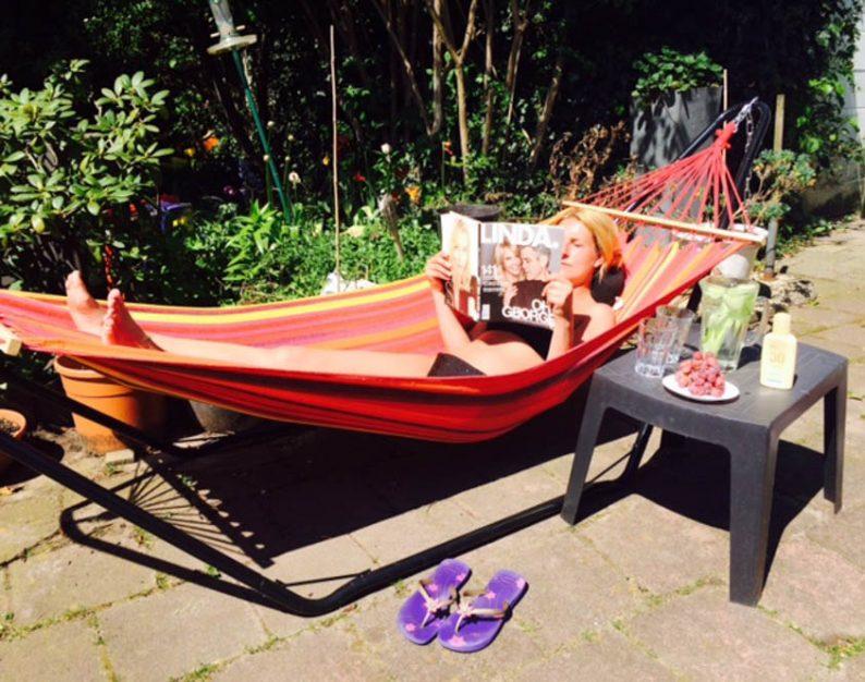 Hangmat-relaxen