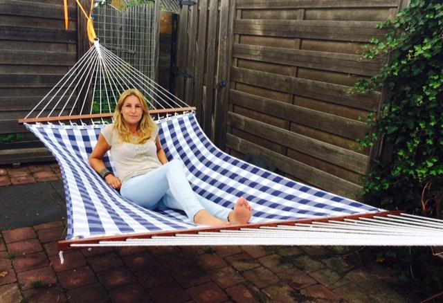 Enjoy the day in een hangmat