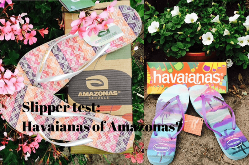 Slipper test: Havaianas of Amazonas?