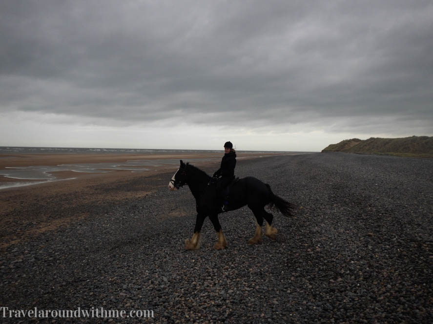 Paardrijden op Heavy Horses in Engelse Lake District