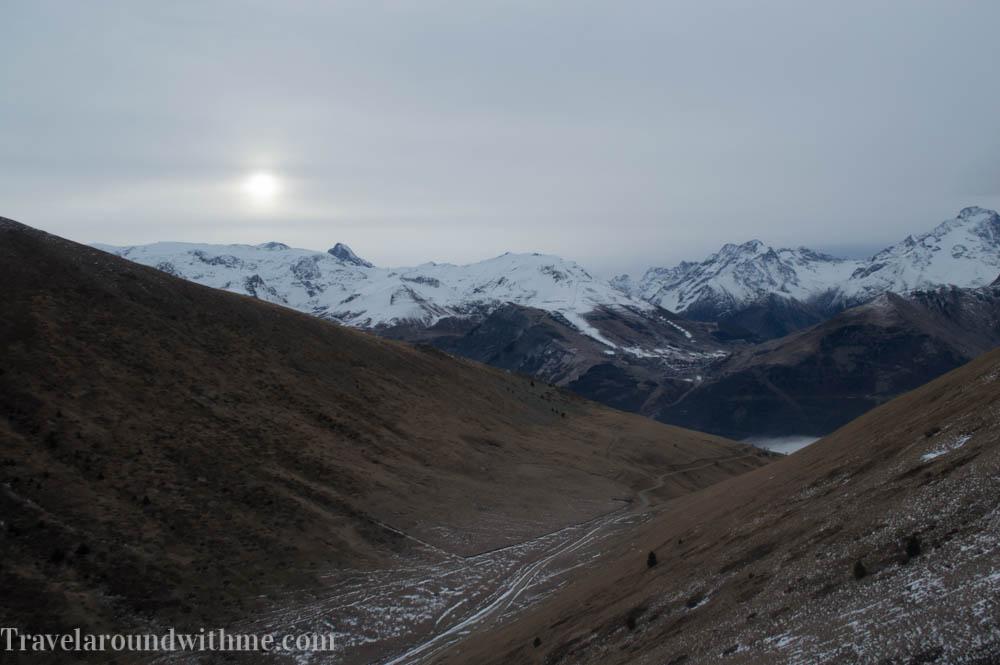 Fotoblog: helikopter transfer naar de piste