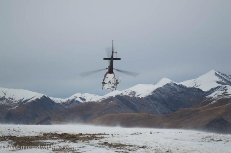 Helikopter transfer Alpe 'd Huez - Les Deux Alpes