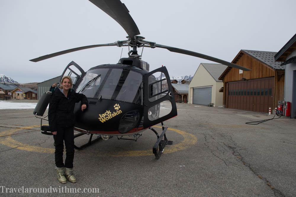Helikopter Alpe d Huez