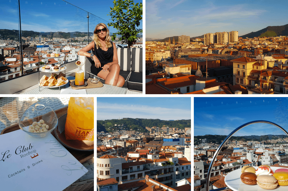 Uitzichtpunt Bilbao, ga naar een rooftop terras