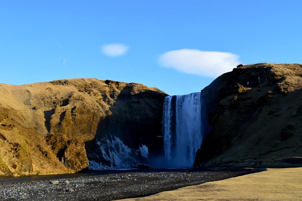 Waterval Skógafoss - IJsland