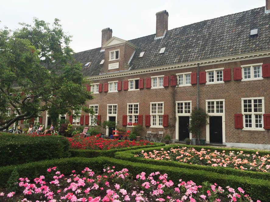 Binnenterrein Haagse Hofjes