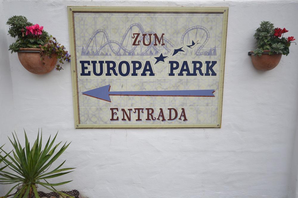Ingang Europa-Park