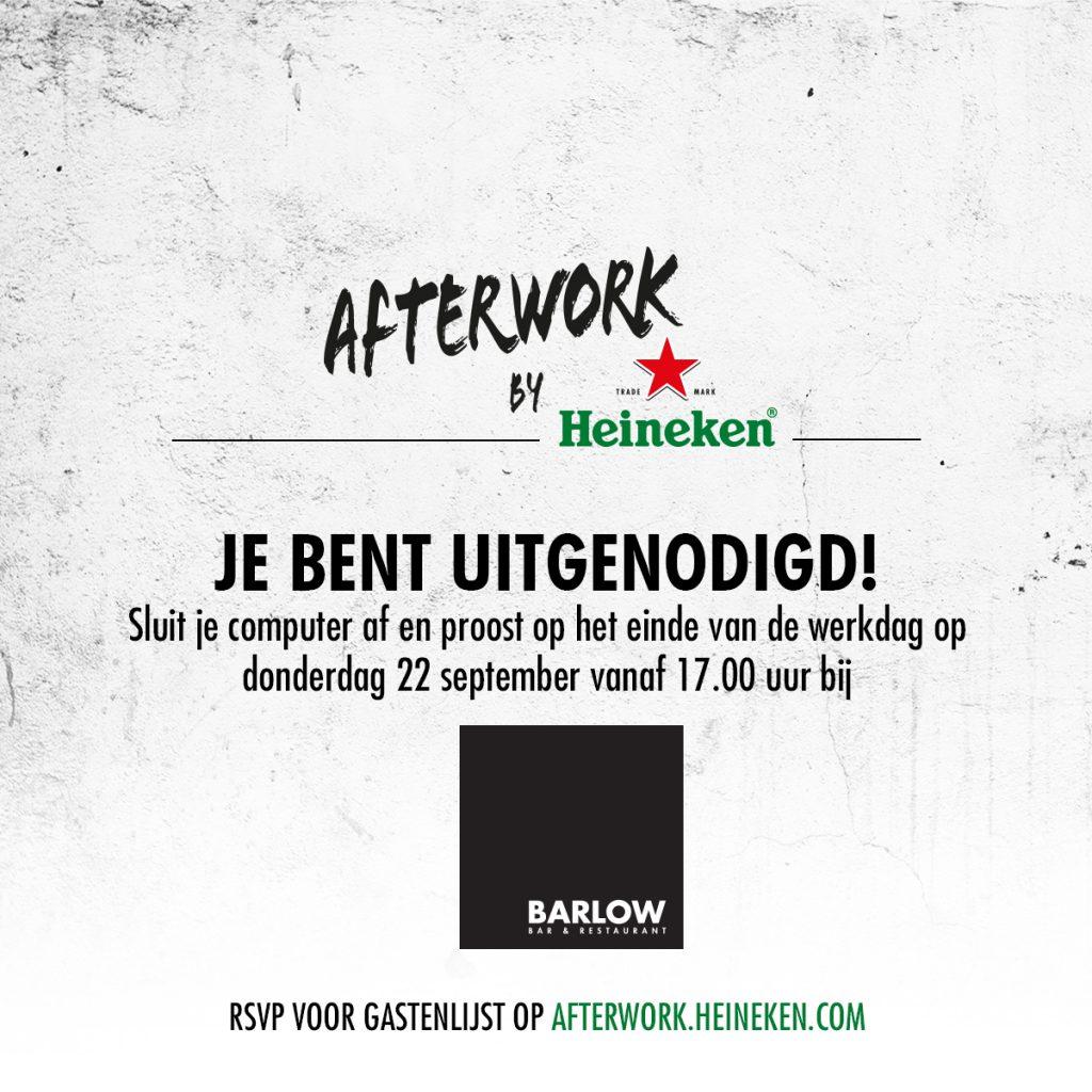 Afterwork by Heineken - Barlow Den Haag