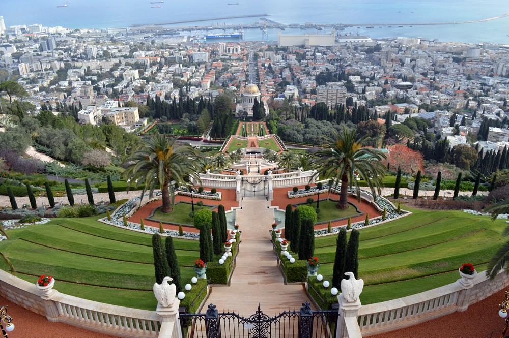 Israel-Haifa-Bahigardens