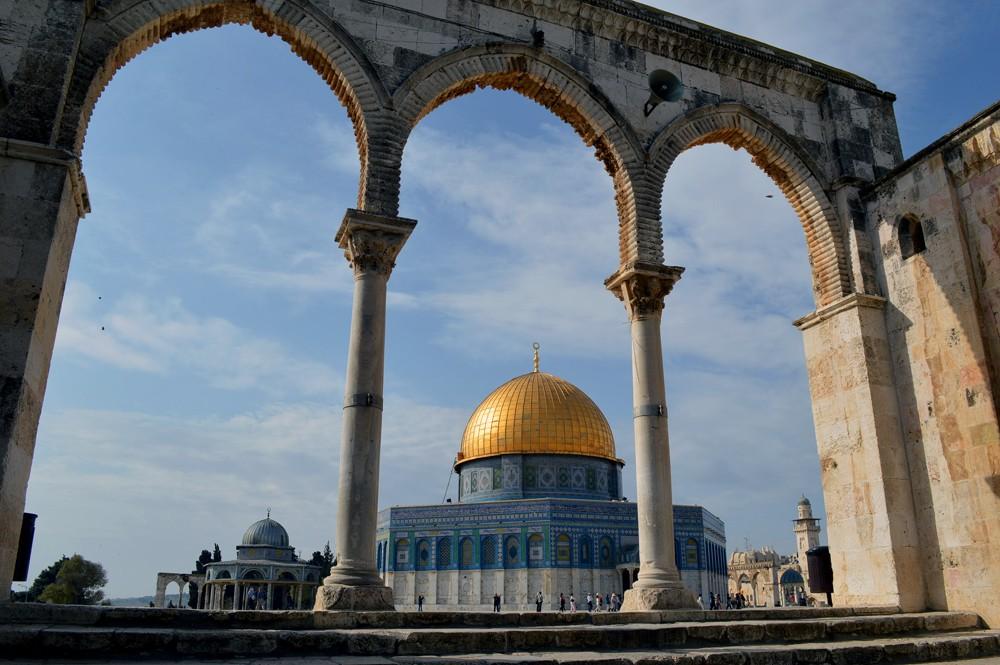Israel-Jeruzalem-Moskee