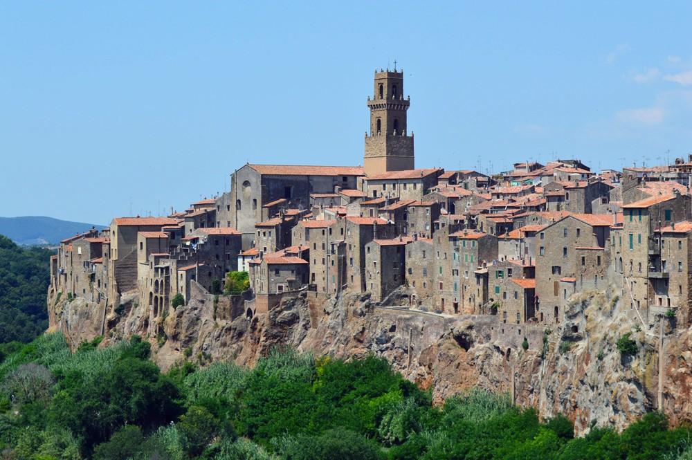 Italie-Pitiglanio-dorp