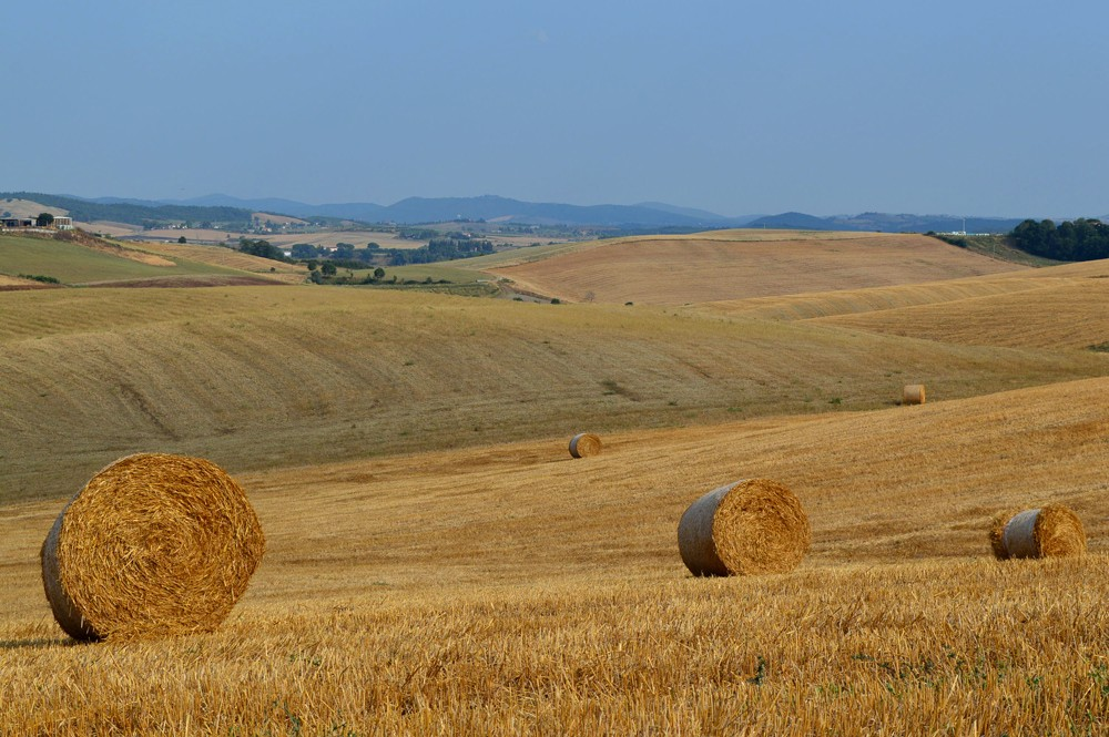 Italie-Saturnia-Landschap