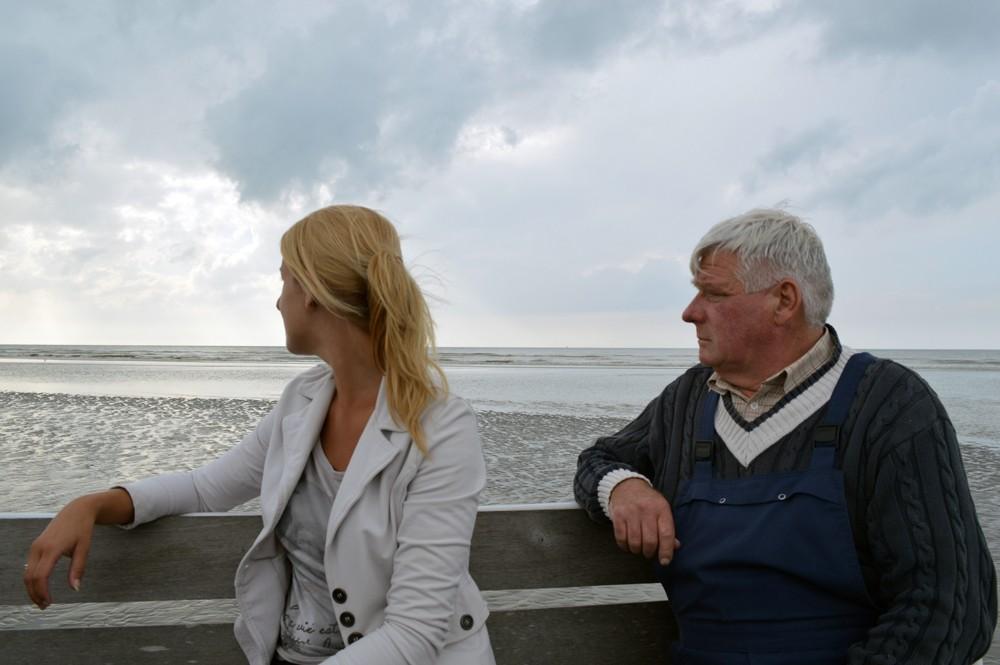 Johan, gepensioneerde garnaalvisser