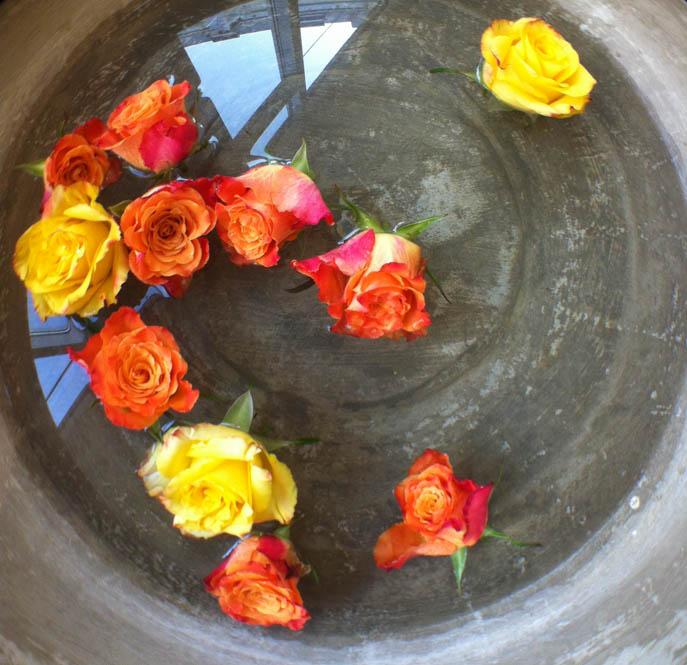 Het rozenbad