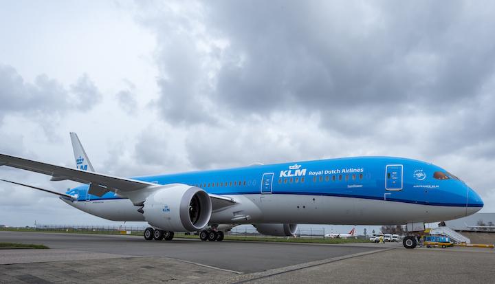 KLM lanceert unboxing movie Boeing 787 Dreamliner