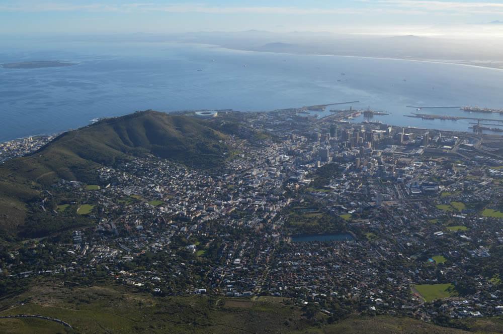 Uitzichtpunt - Tafelberg
