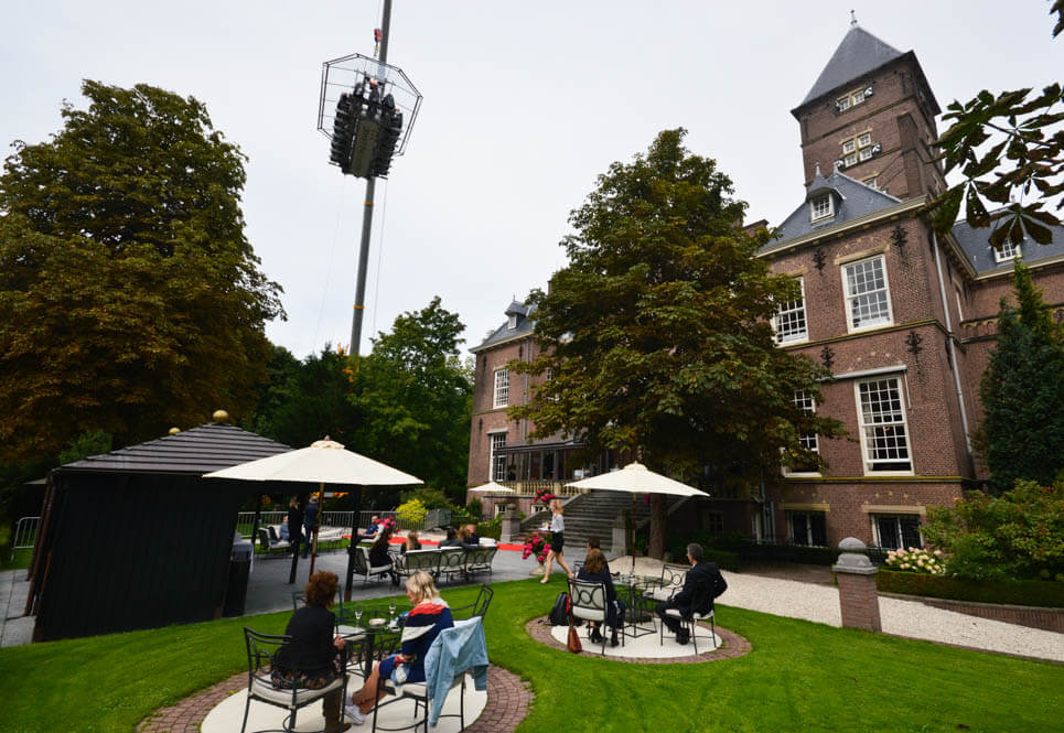 Kasteel Wittenburg - Dinner in the Sky