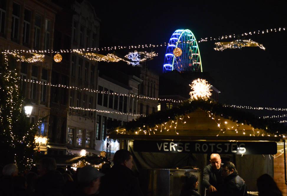 Shoppen Kerst kraampjes - Antwerpen
