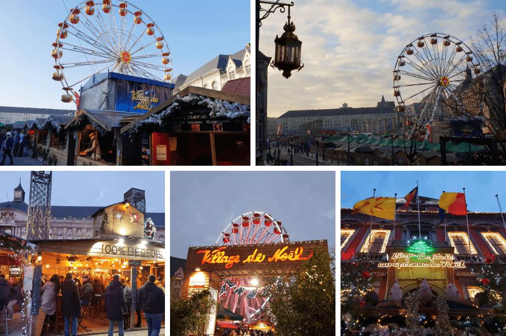 Kerstmarkt in Luik
