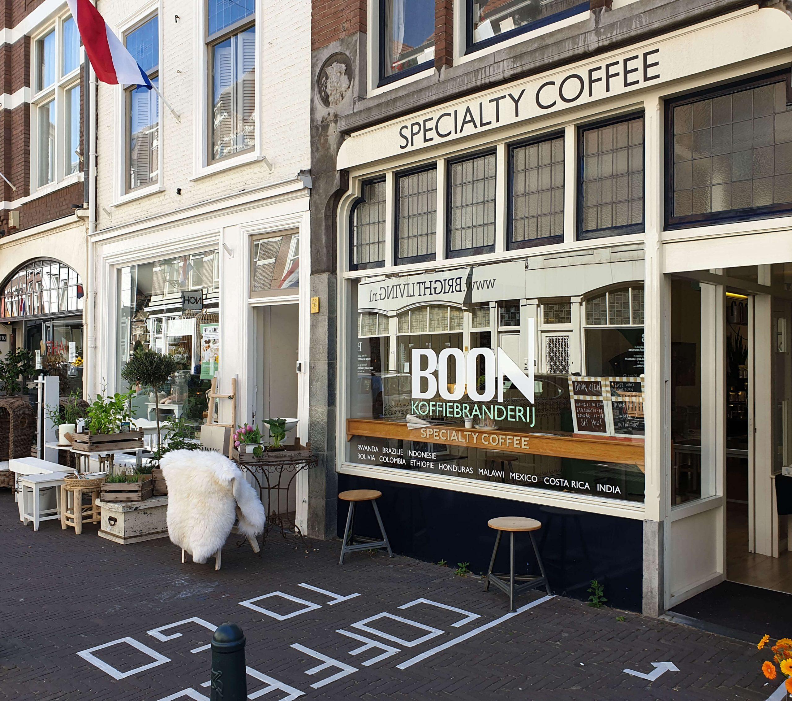 Koffie drinken Den Haag Centrum