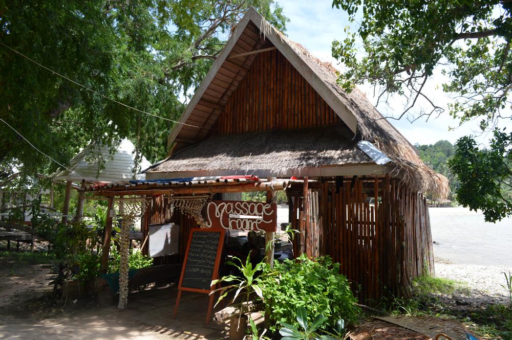 Thaise massage, Koh Talu