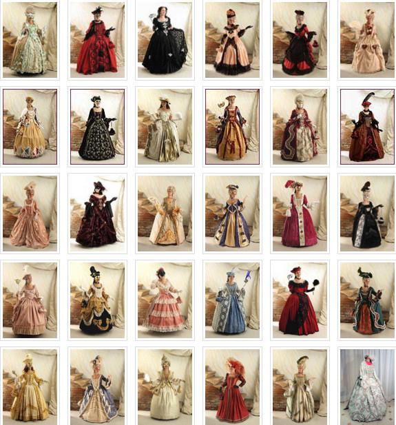 Kostuum uitzoeken en passen