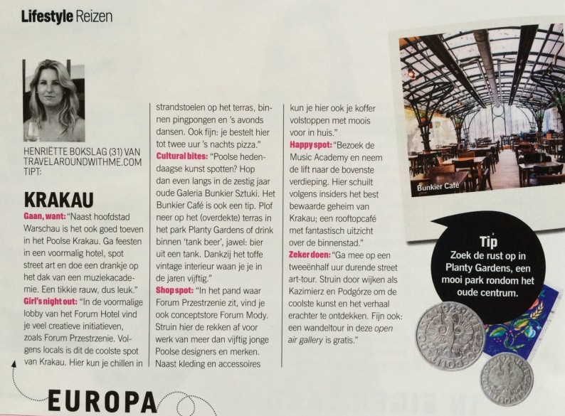 Under the radar reizen in Cosmopolitan, mijn reistips Krakau