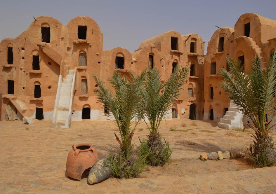 Ksar Ouled Soltane, nabij Tatouine - Tunesië