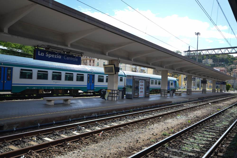 Het treinstation van La Spezia