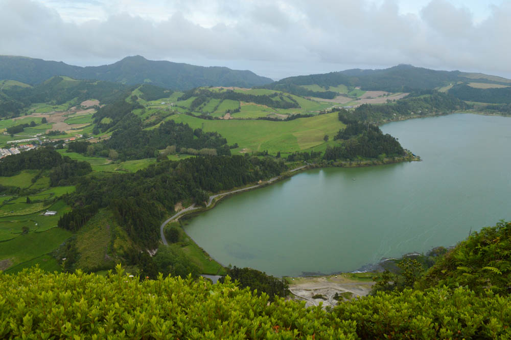 Pico do Ferro, nabij Lagoa das Furnas