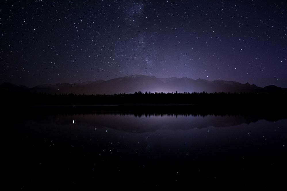 Lake Annette stargazing - Credit Ryan Bray