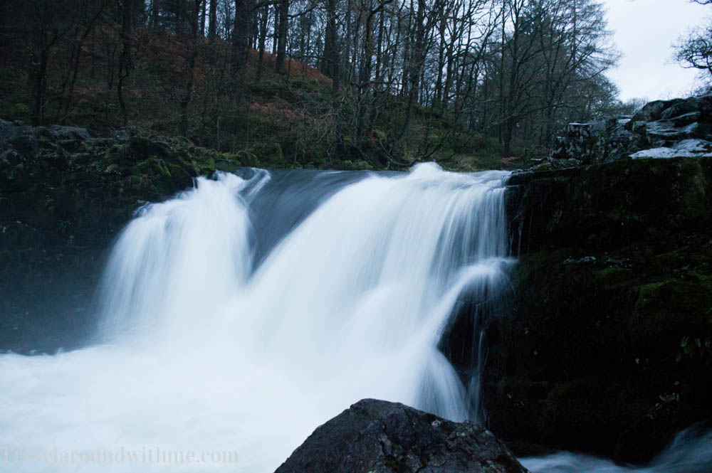 Waterval in Lake District