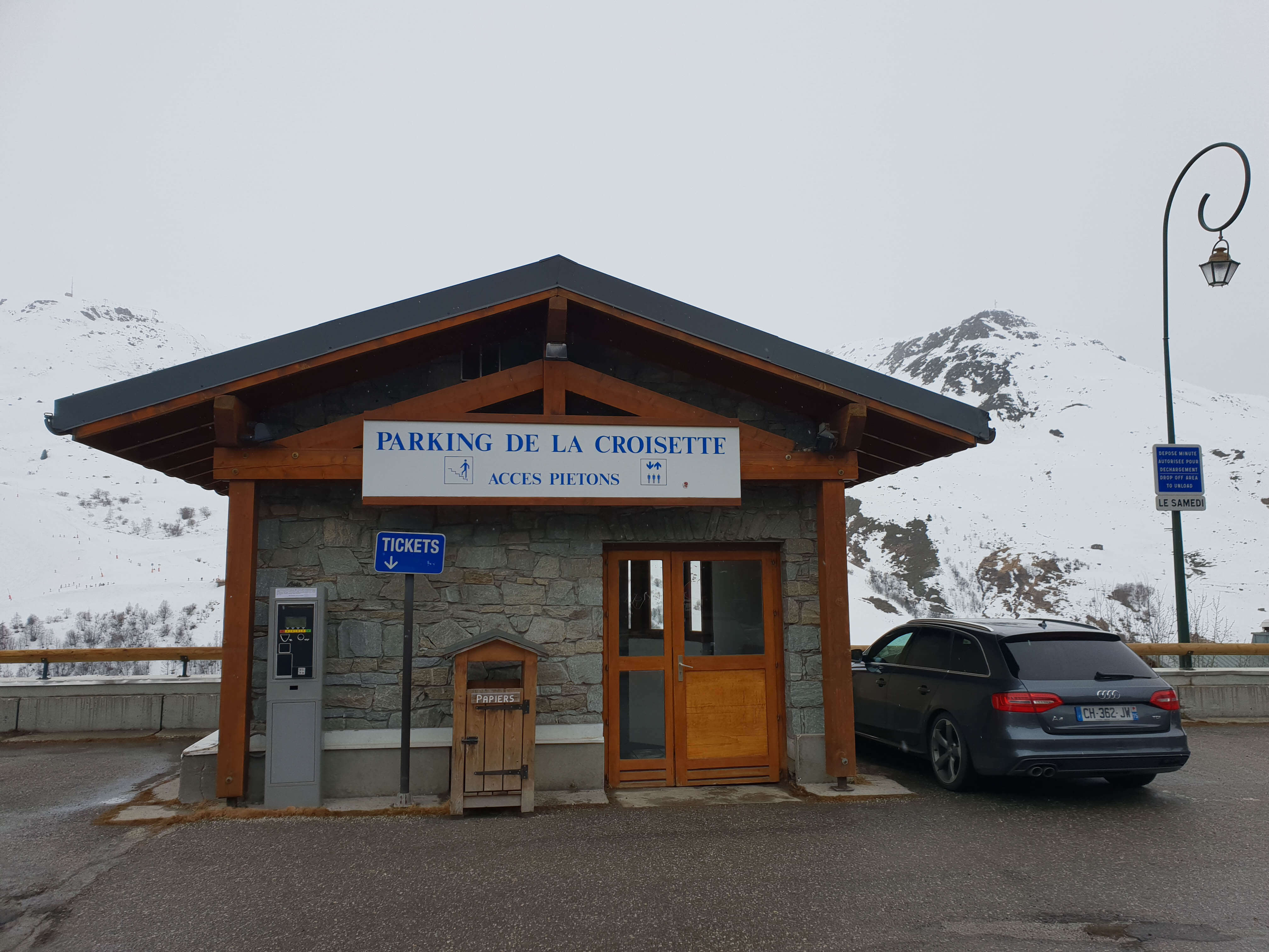 Parkeren in Les Menuires