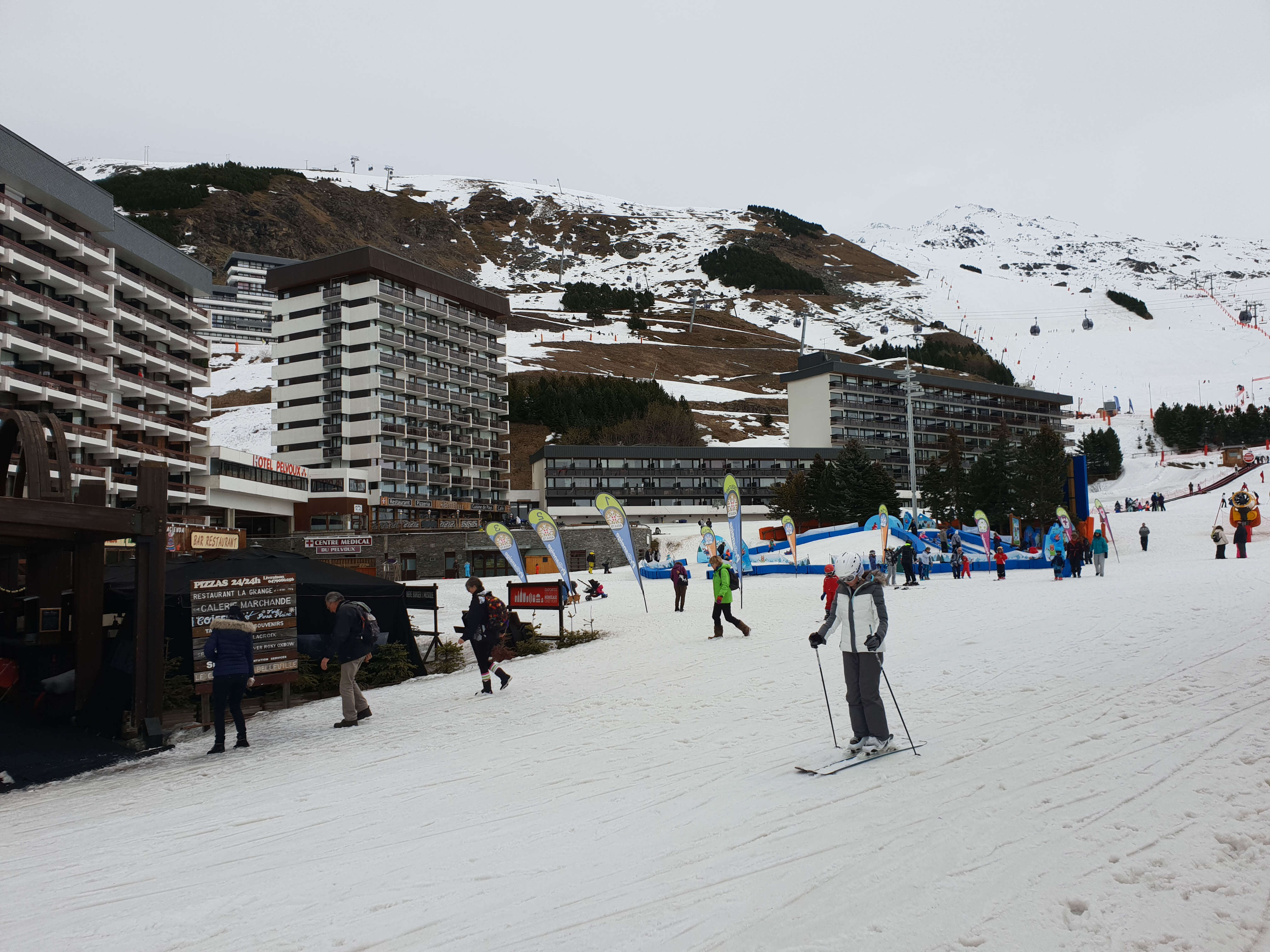 Wintersport Les Menuires inclusief skipas