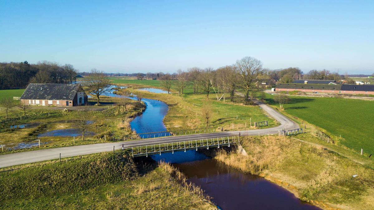 Mooie autoroutes in Twente