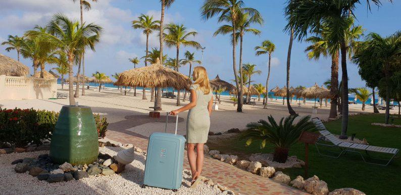 Lichtgewicht Samsonite koffer voor reizen