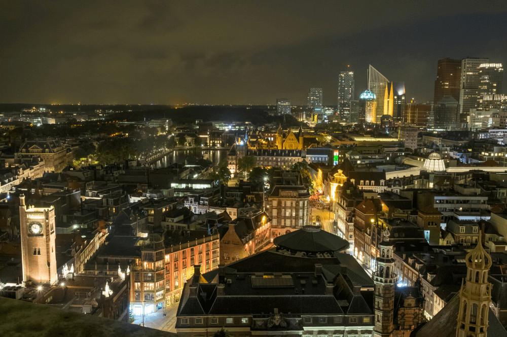 Lichtjesavond Haagse Toren