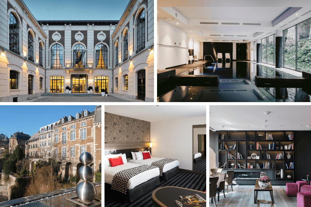 Luxe hotel in Luik met zwembad